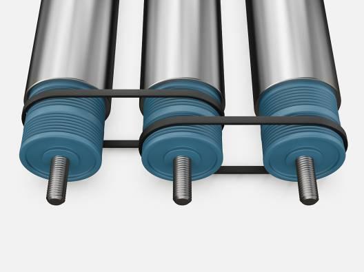 Поликлиновые ремни для конвейерных роликов