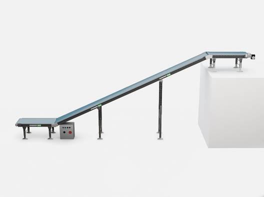 Наклонный ленточный конвейер межэтажный