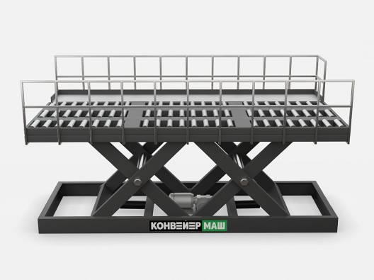 Подъемный стол для авиаконтейнеров