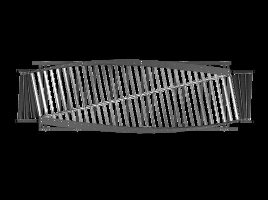 Спиральный конвейер — кантователь