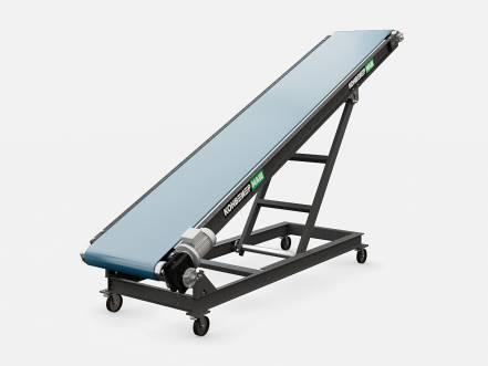 Ленточный конвейер с изменяемым углом